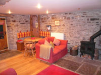 Pudding Pie Barn, Wigley, Nr. Baslow, Derbyshire - Lounge