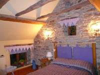 Pudding Pie Barn, Wigley, Nr. Baslow, Derbyshire - Main Bedroom